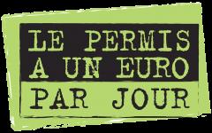Logo du permis à 1 euro par jour